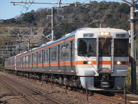 313系普通 東海道本線 三河三谷~三河大塚01