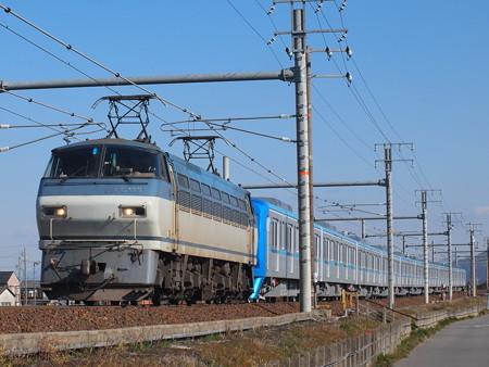 EF66 メトロ15000系甲種 東海道本線岐阜~木曽川01