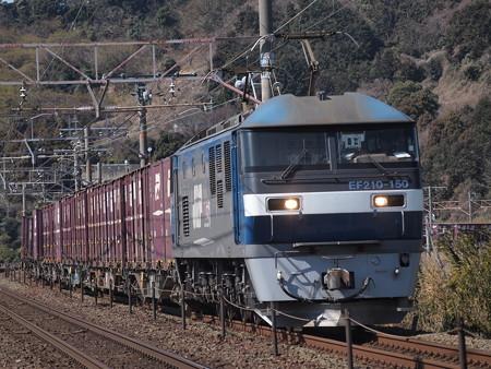 EF210貨物 東海道本線三河三谷~三河大塚
