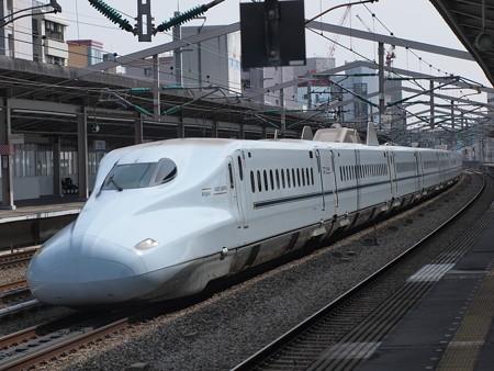 N700系さくら 山陽新幹線西明石駅