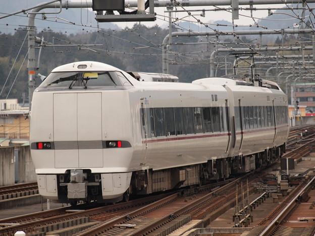 289系回送 山陰本線福知山駅