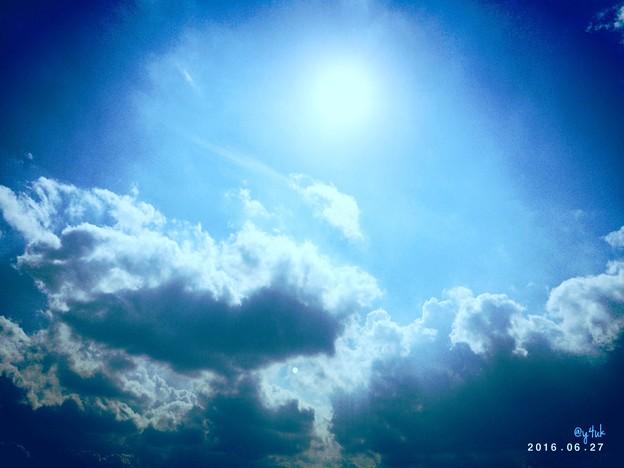 Photos: 希望の青い空 ~梅雨の晴れ間のHope