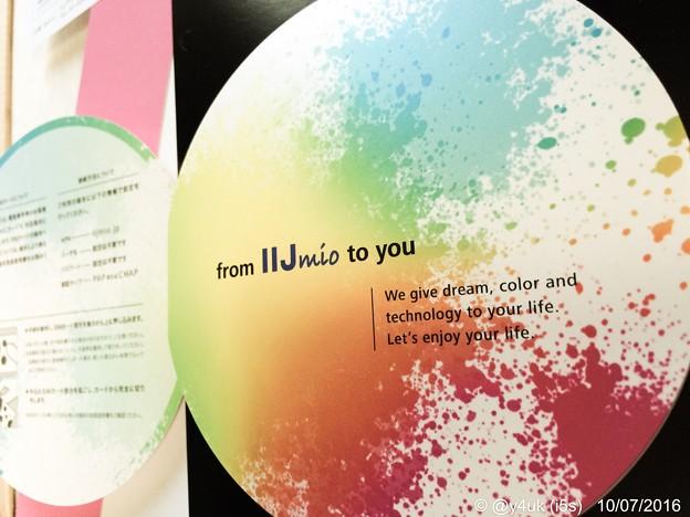 Let's enjoy your life. ~colorful color