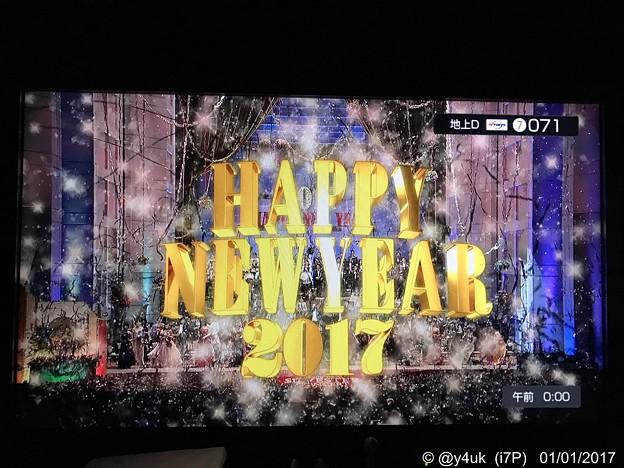 0:00 Happy New Year 2017 ~外から除夜の鐘&花火