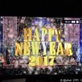 写真: 0:00 Happy New Year 2017 ~外から除夜の鐘&花火