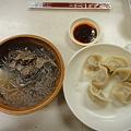 Photos: 上海駅前 大娘餃子の粉絲と白菜猪肉餃子