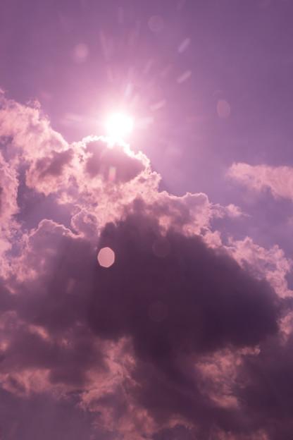 ぎやまんの空 ピンク