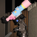 写真: キティちゃん望遠鏡