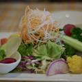 写真: 野菜が美味い!