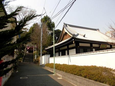 居木神社-01表参道c(右:観音寺)