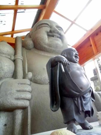 貴船神社(大崎駅界隈)-03布袋像b