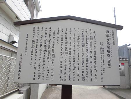 海蔵寺_海蔵寺無縁塔群(首塚) info
