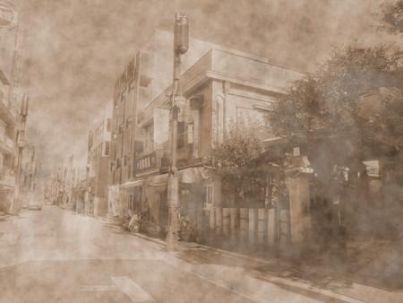 品川宿商店街-02