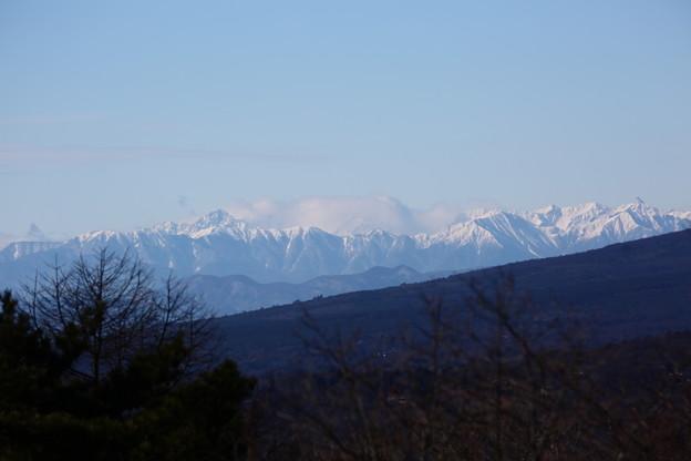 写真: 穂高連峰