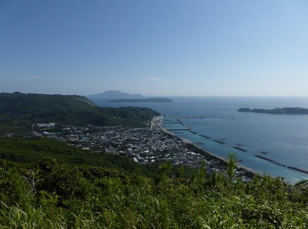 富士見峠展望台より