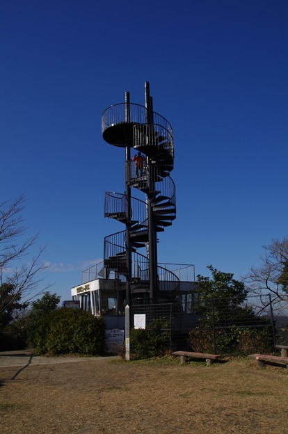 大楠山の展望台