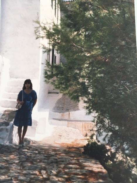 ギリシャの木陰