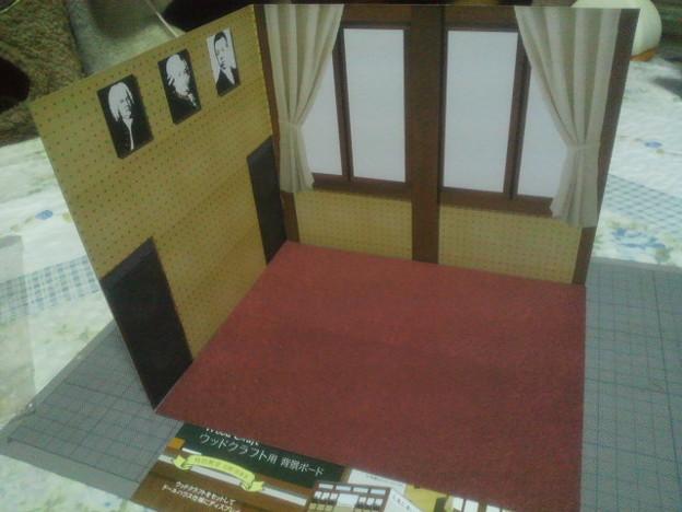 キャンドゥウッドクラフト背景ボード 特別教室 玄関/音楽室 音楽室 床...