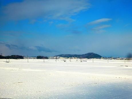 雪景色~米原付近