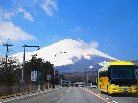 須走からの富士山