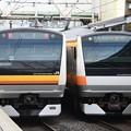 写真: E233系花火臨