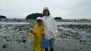 潮干狩り2