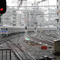 Photos: 雨に煙る電車