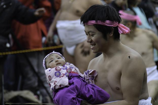 Photos: 和良比どろんこ祭り(お宮参り」