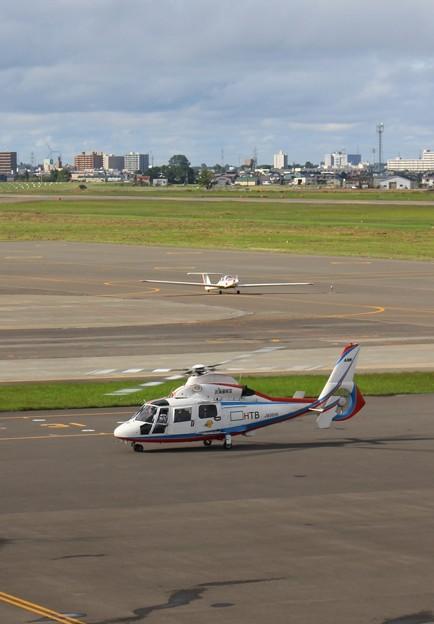 札幌丘珠空港にて(OKADAMA Airport) (3)