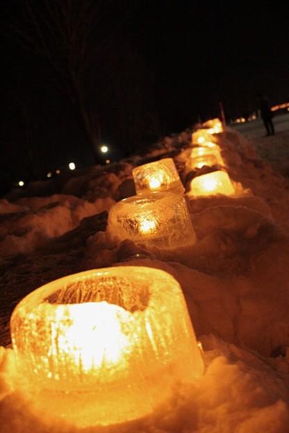 雪原に燈るランタン (6)