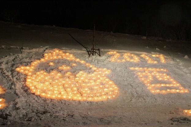 雪原に燈るランタン (9)