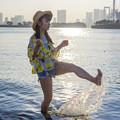 Photos: 東京湾を蹴っ飛ばせ Splash!