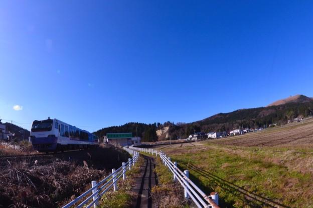 冬の青い空