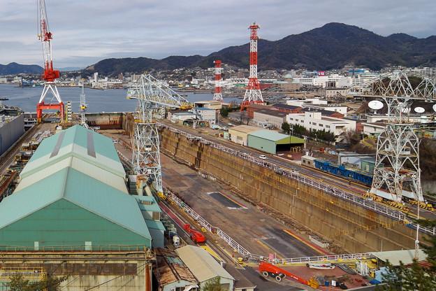 石川島播磨重工業 第四ドック