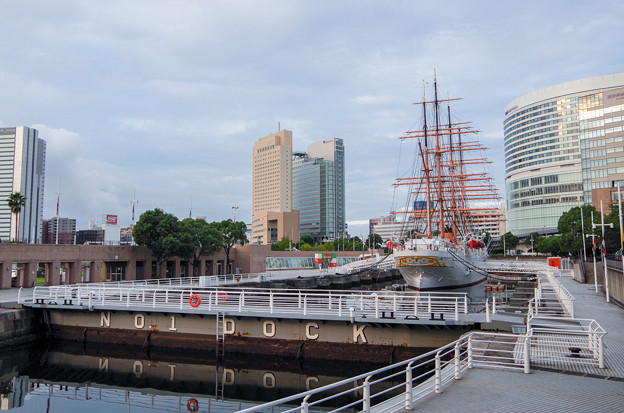 日本丸パーク(旧横浜船渠株式会社一号船渠)