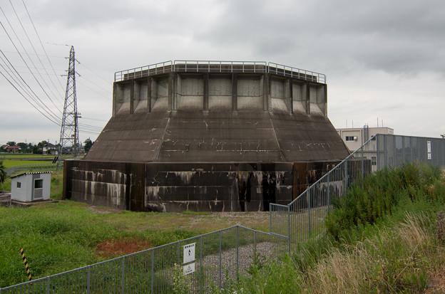 中野発電所 サージタンク