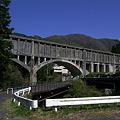 Photos: 読書発電所 柿其水路橋