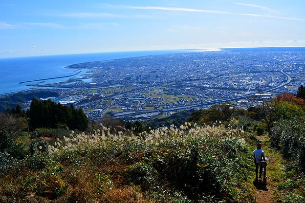 写真: 高草山からの眺め