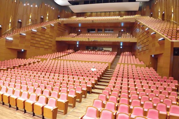 大ホールの客席