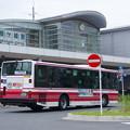 写真: こんなバスで帰ります。