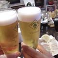 二杯目は生ビール