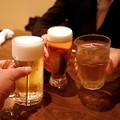 準備完了の乾杯