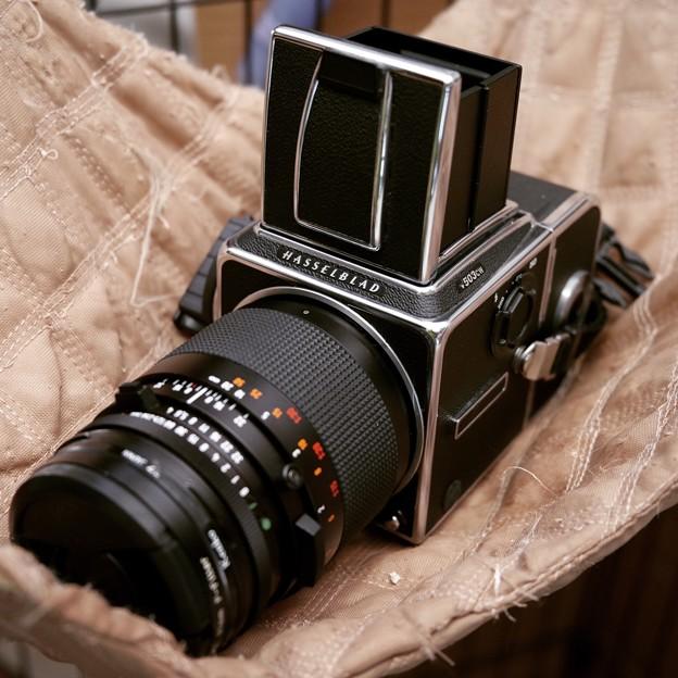 高級真四角写真機