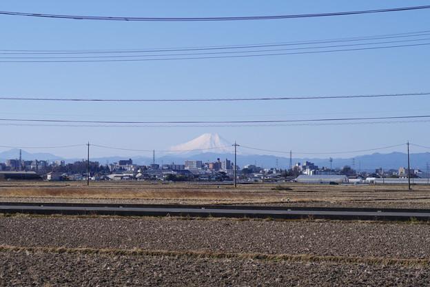 芳野の田園風景