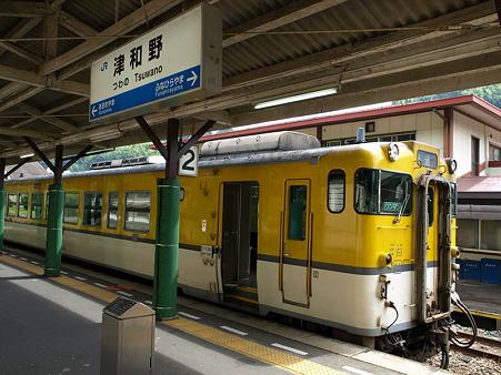 キハ40山口線(津和野駅)6