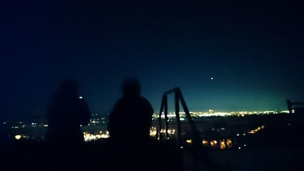 写真: 十勝が丘展望台。