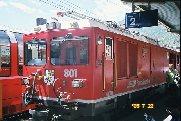 Photos: レイティッシュ機関車