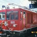 写真: レイティッシュ機関車