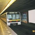 写真: プラハ 地下鉄