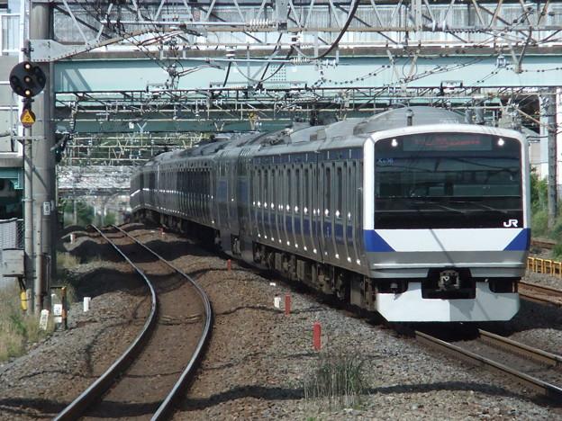 常磐線・上野東京ラインE531系 K406+K471編成